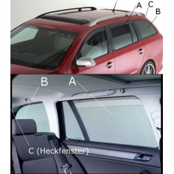 Sonniboy autozonwering Skoda Superb Sedan 2008-2015 (alleen achterdeuren)